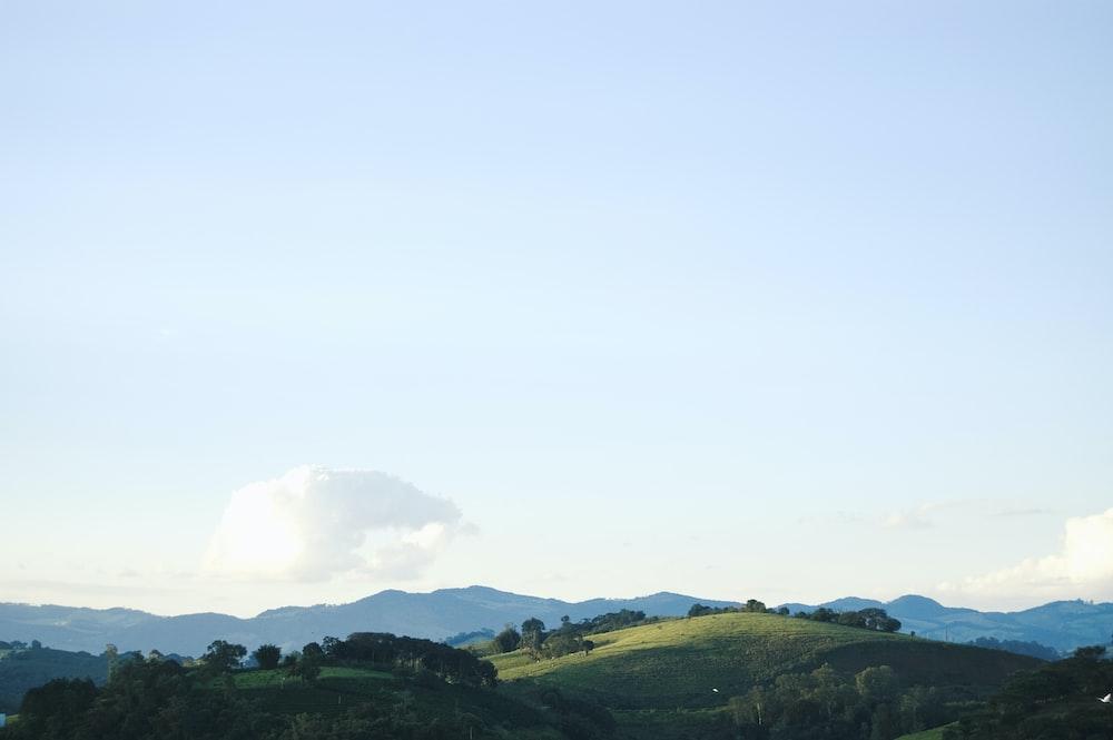 mountain peak under blue sky