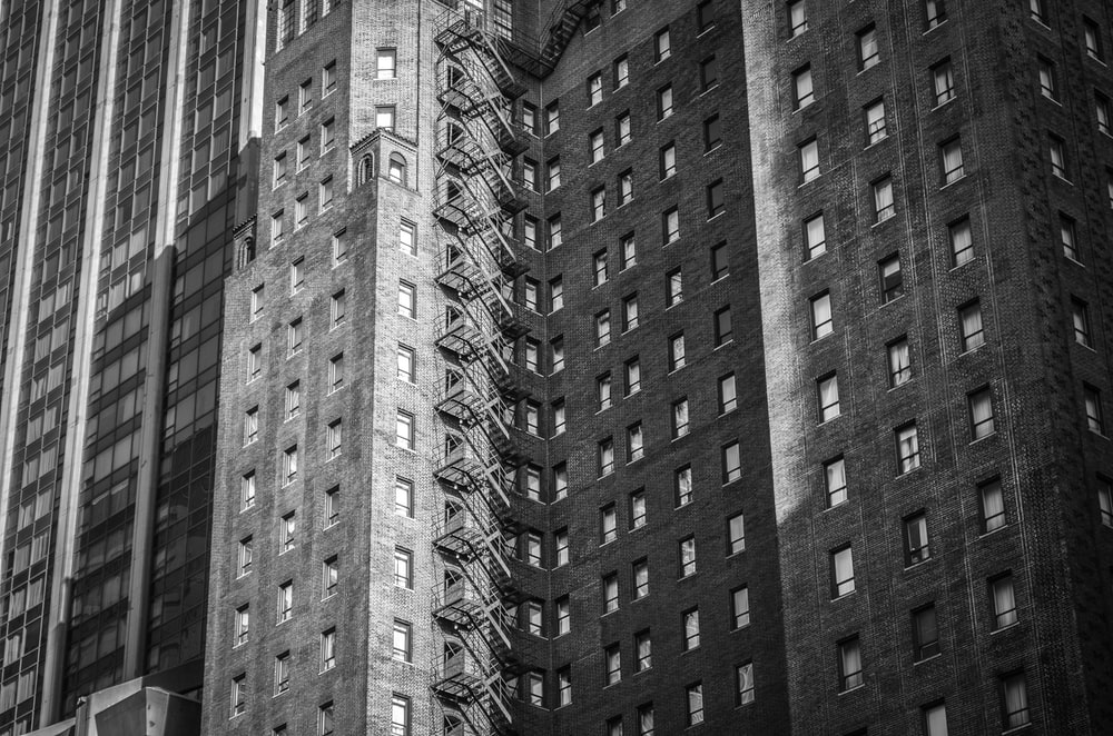 black and gray concrete buildings