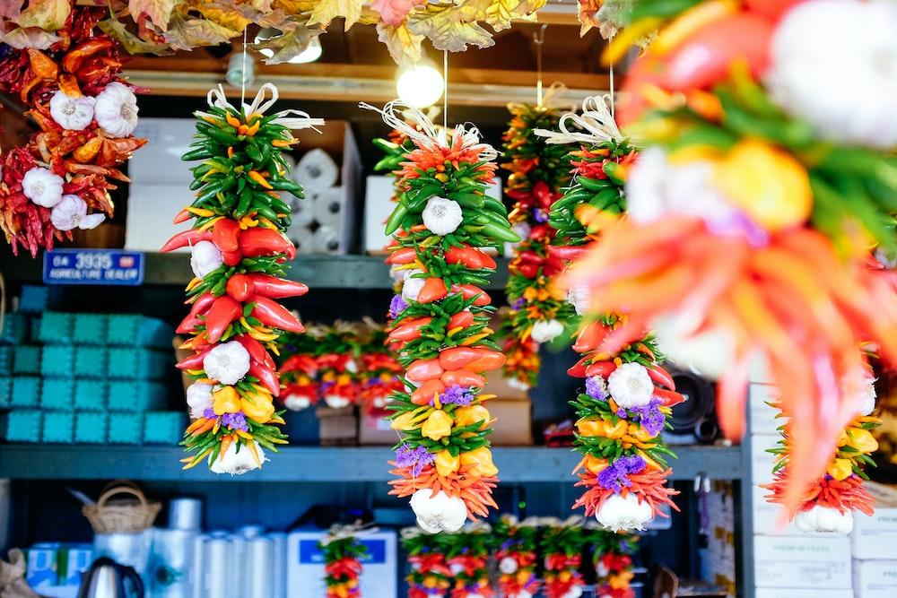flower lanterns