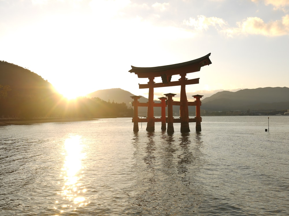 Torii Gate, Japan during day
