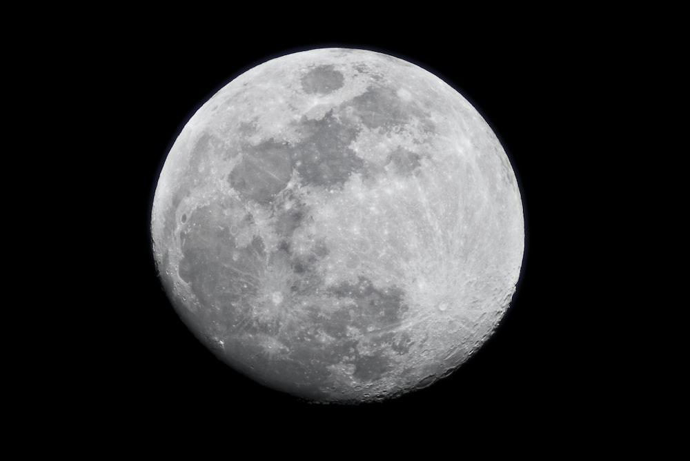 illustration of moon