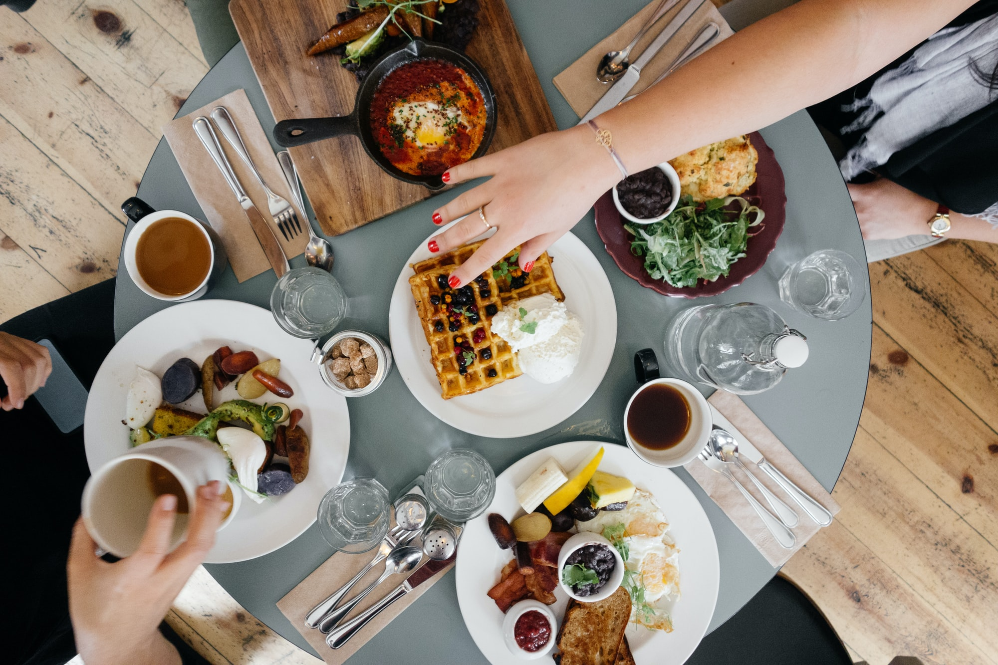 Brunching with Friends