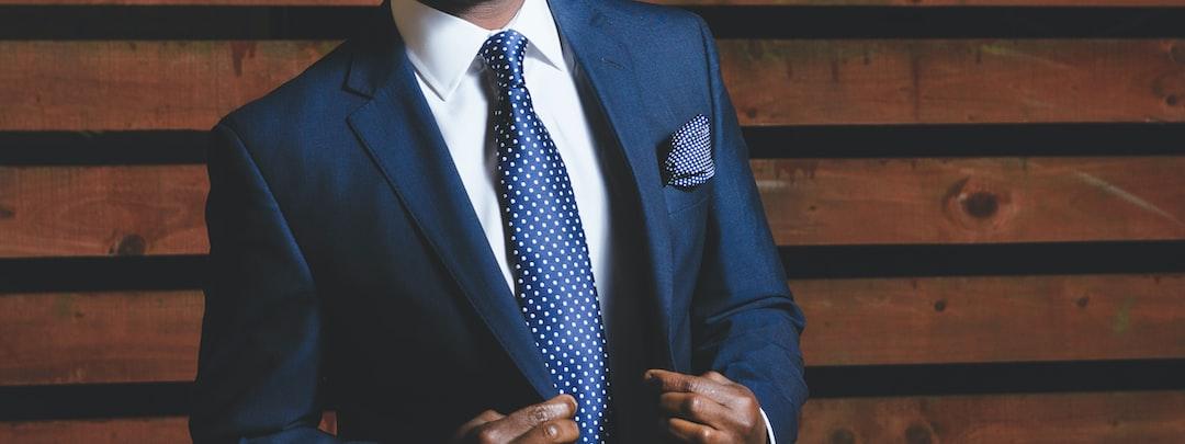 Confident elegant man