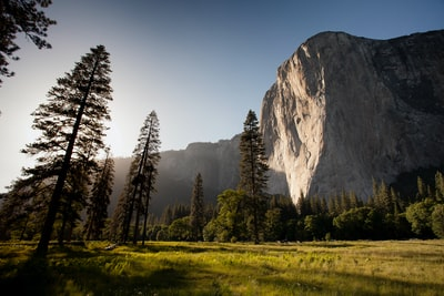 El Capitan on a sunny afternoon