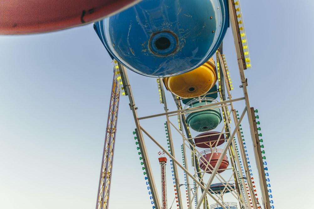 lit on carnival ride