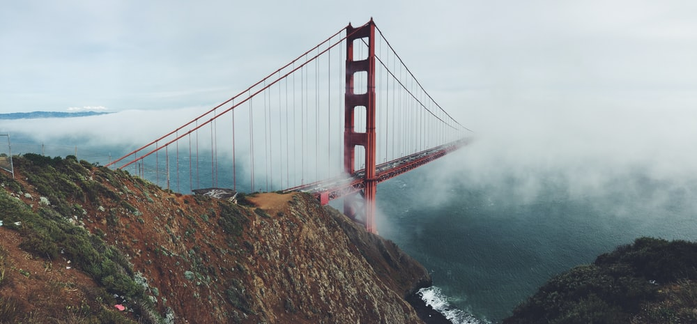 Golden Gate, San Francisco at daytime
