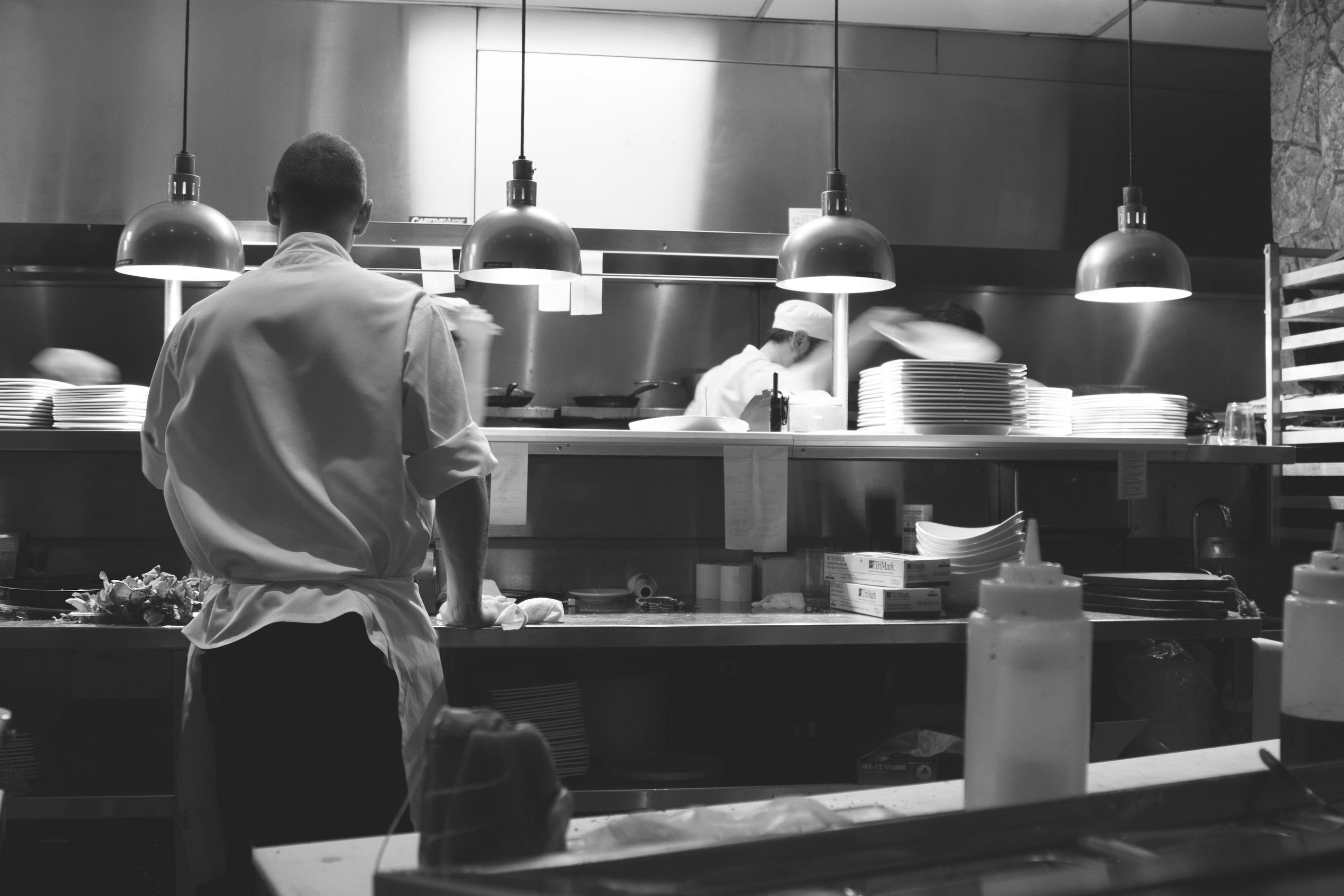Chefs at Work, photo by https://unsplash.com/@michaelwb