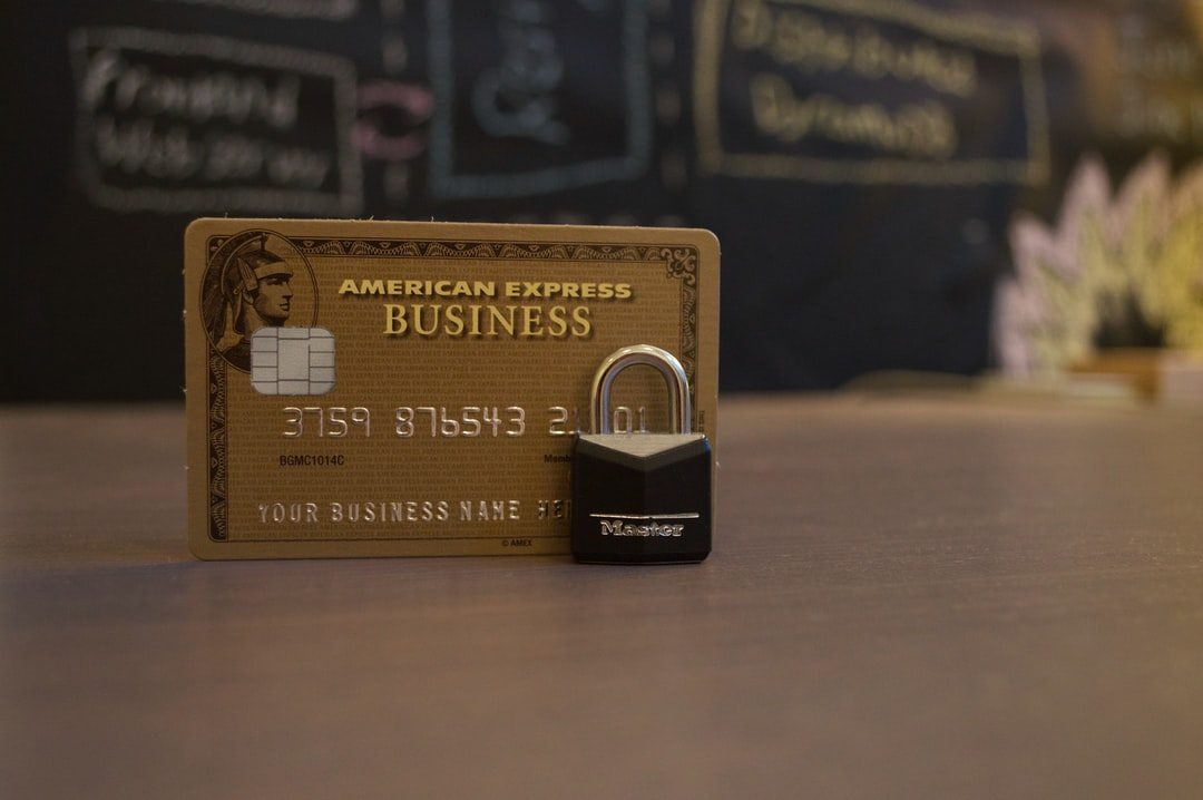 AMEX business credit card