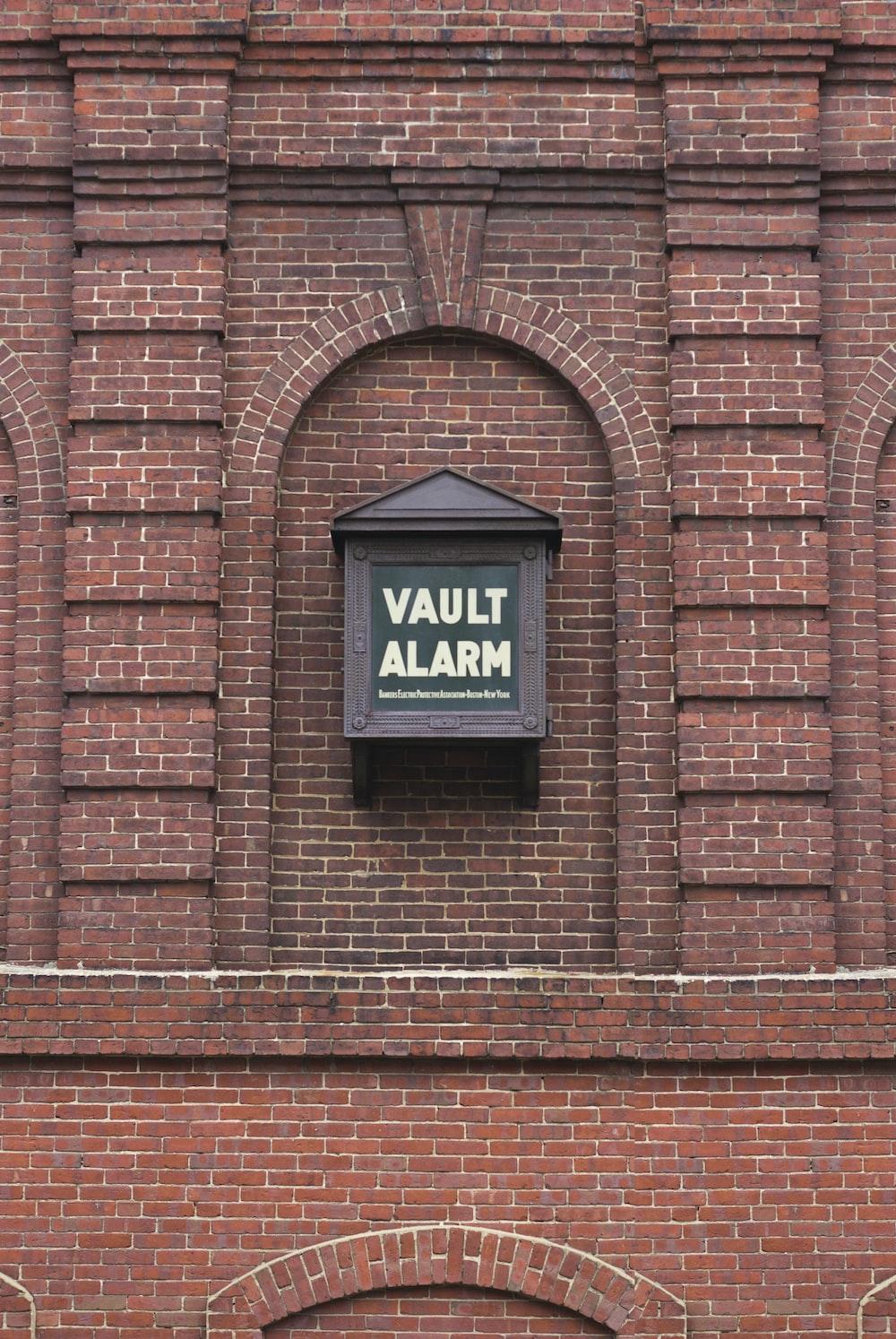 Vault Alarm box