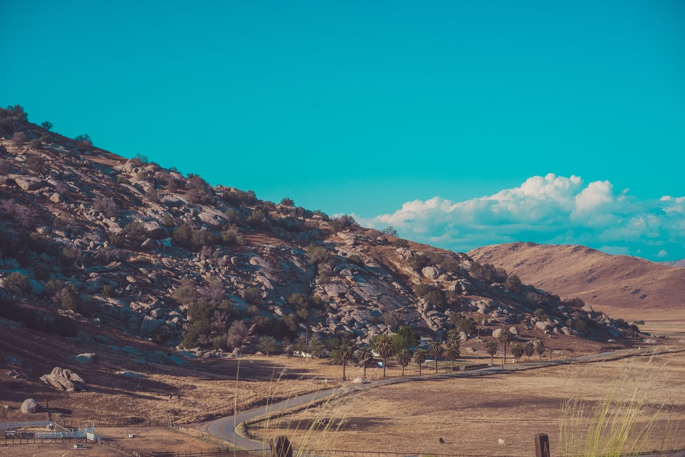 mountain scenery during daytime