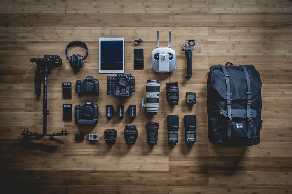photo of DSLR camera
