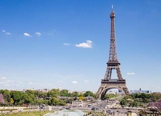 Eiffel Tower at Paris, France