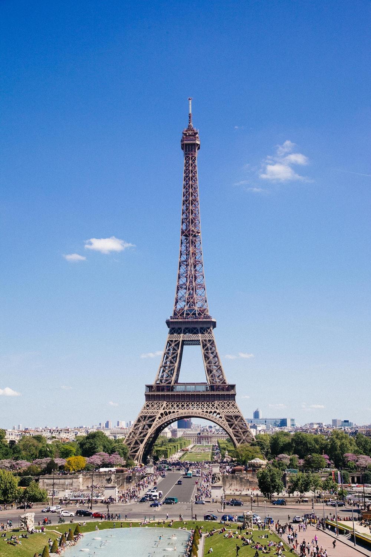 Eiffel Tower, Paris during day