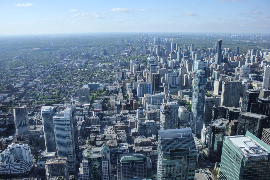 Toronto Skyline from the CN Tower