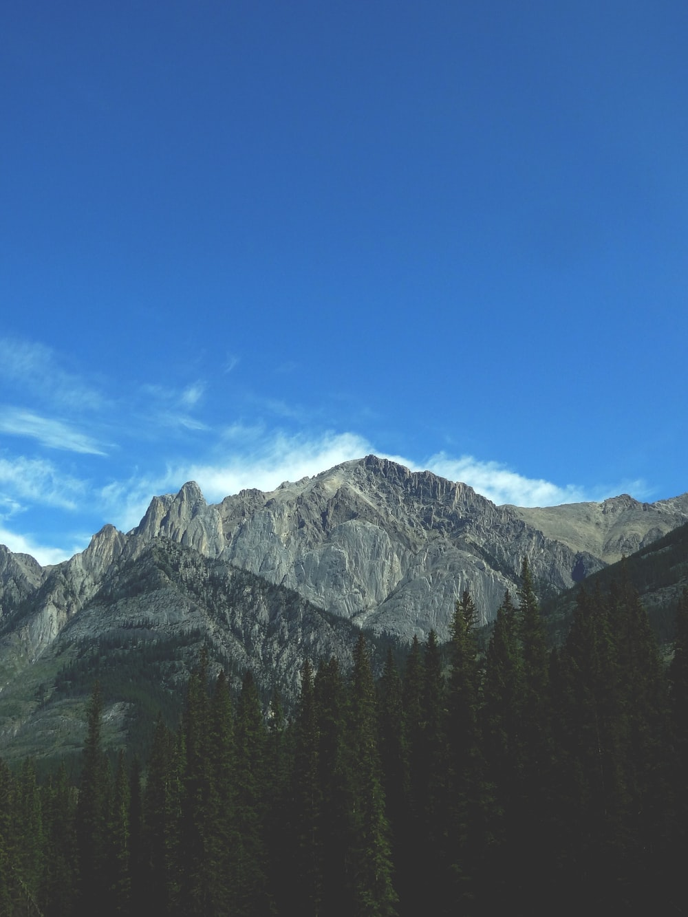 gray mountain scenery during daytime