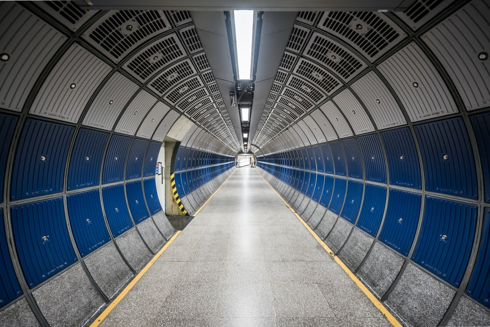 photography of hallway