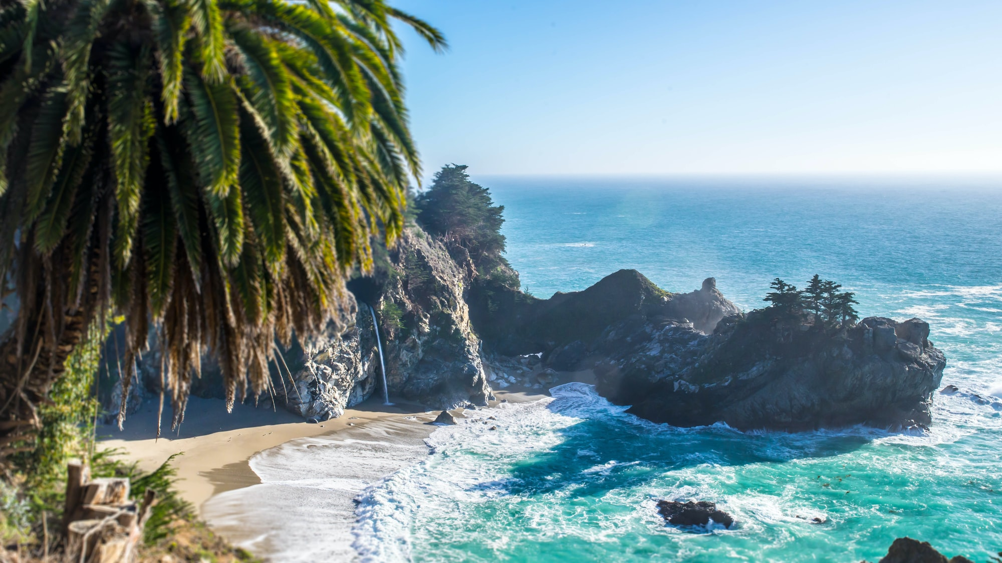Ocean bay view