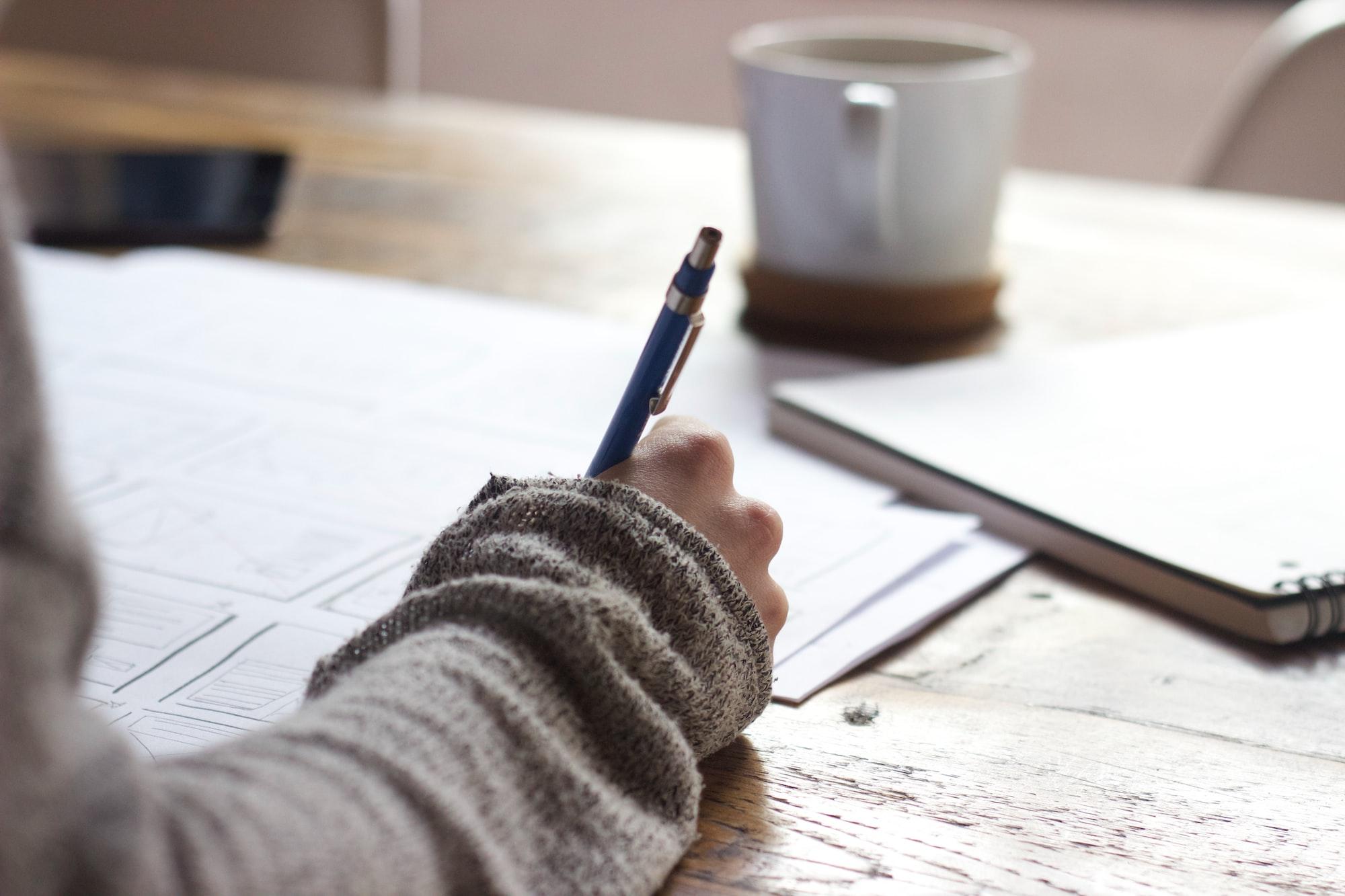 Reglas de escritura