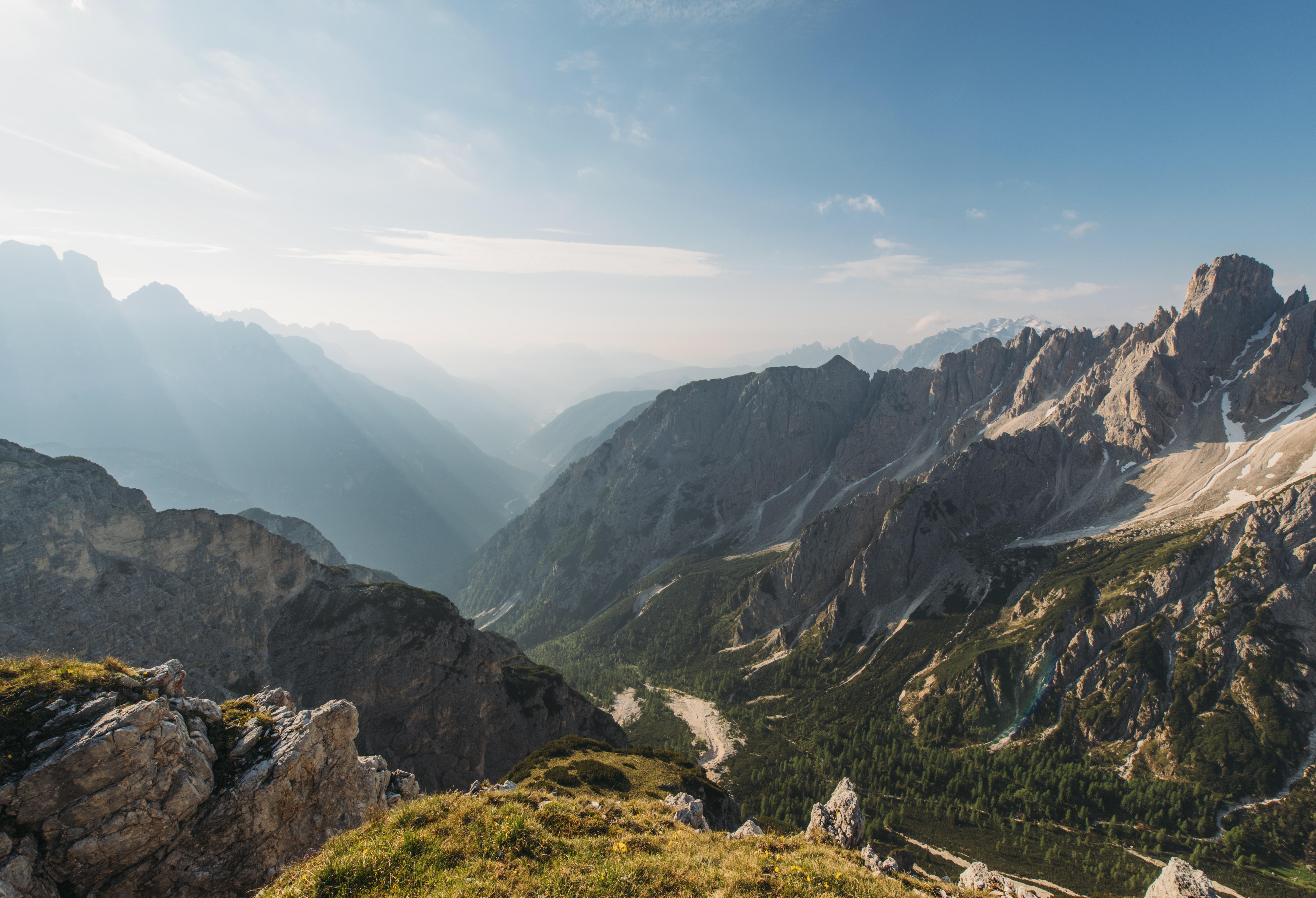 brown mountains at daytime