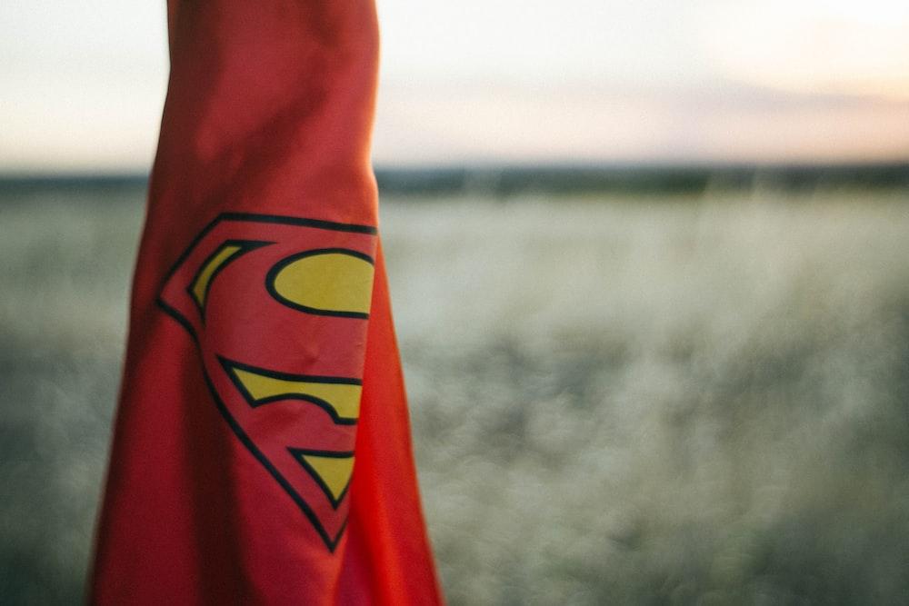 red Superman cape