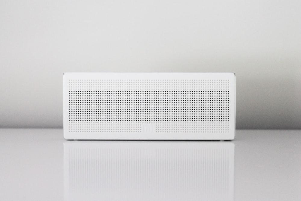 rectangular white device