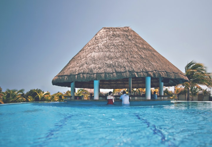 recreational pool spa