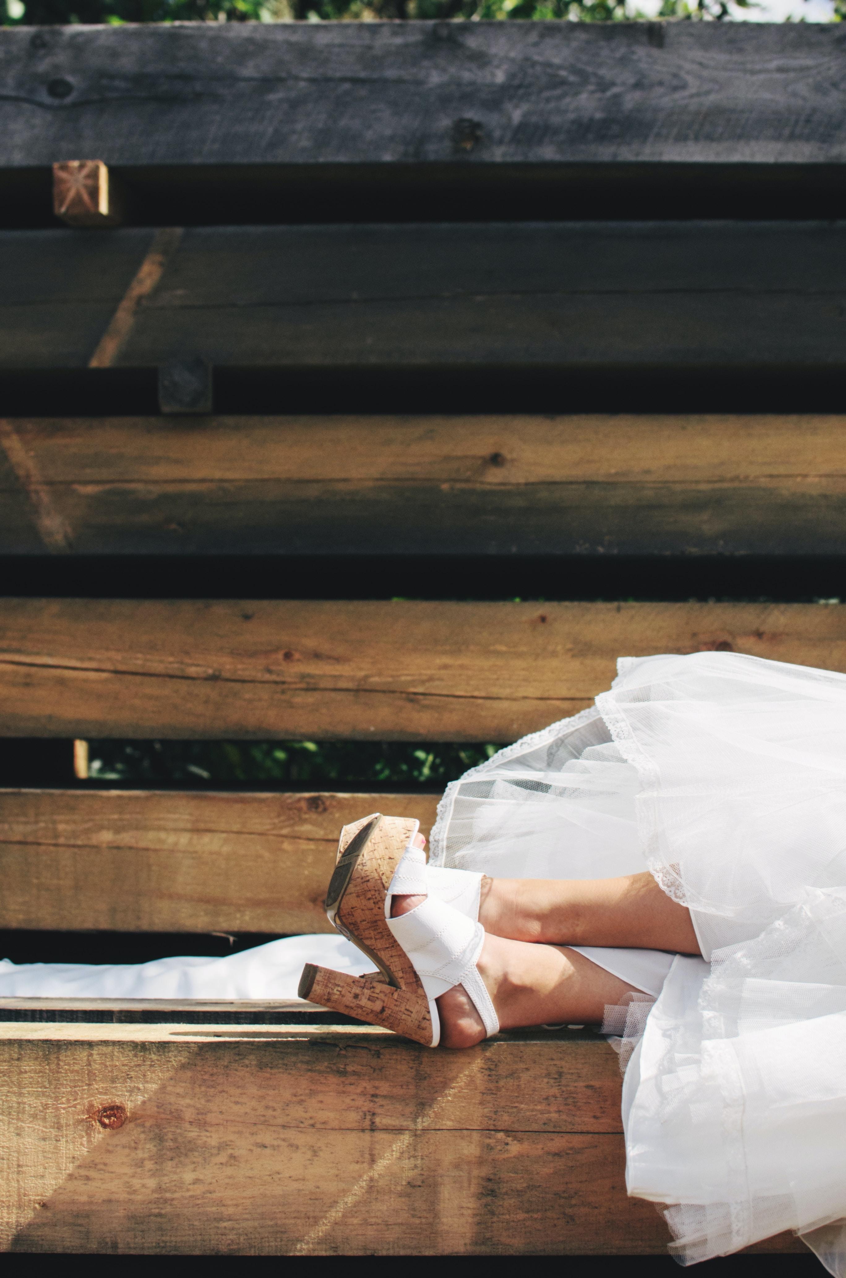 Relax wedding photo
