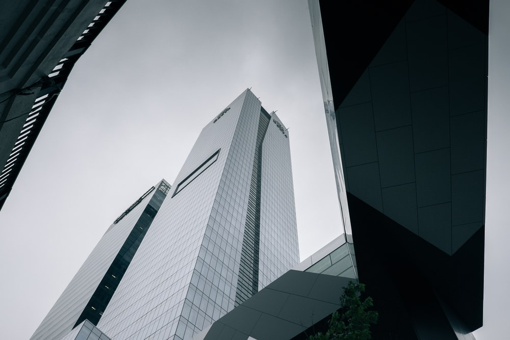 high-rise building photography