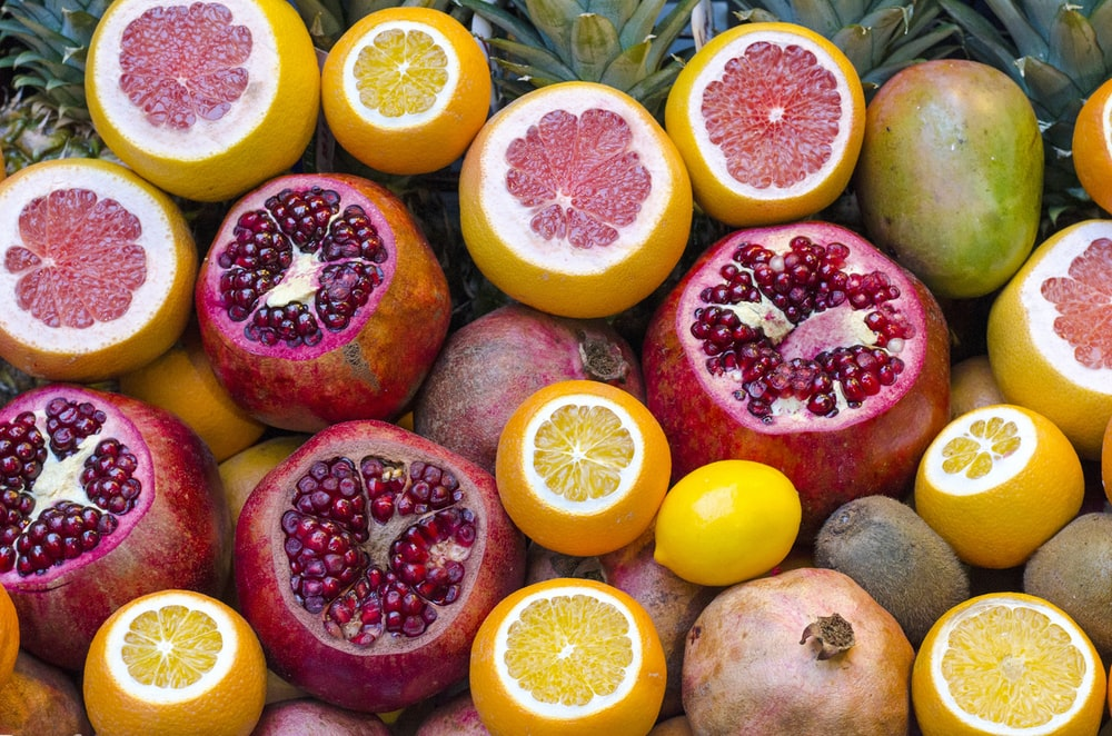 kiwis and oranges