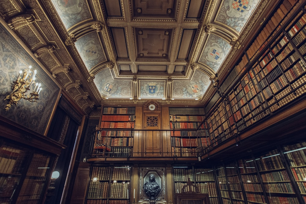 photo of library interior