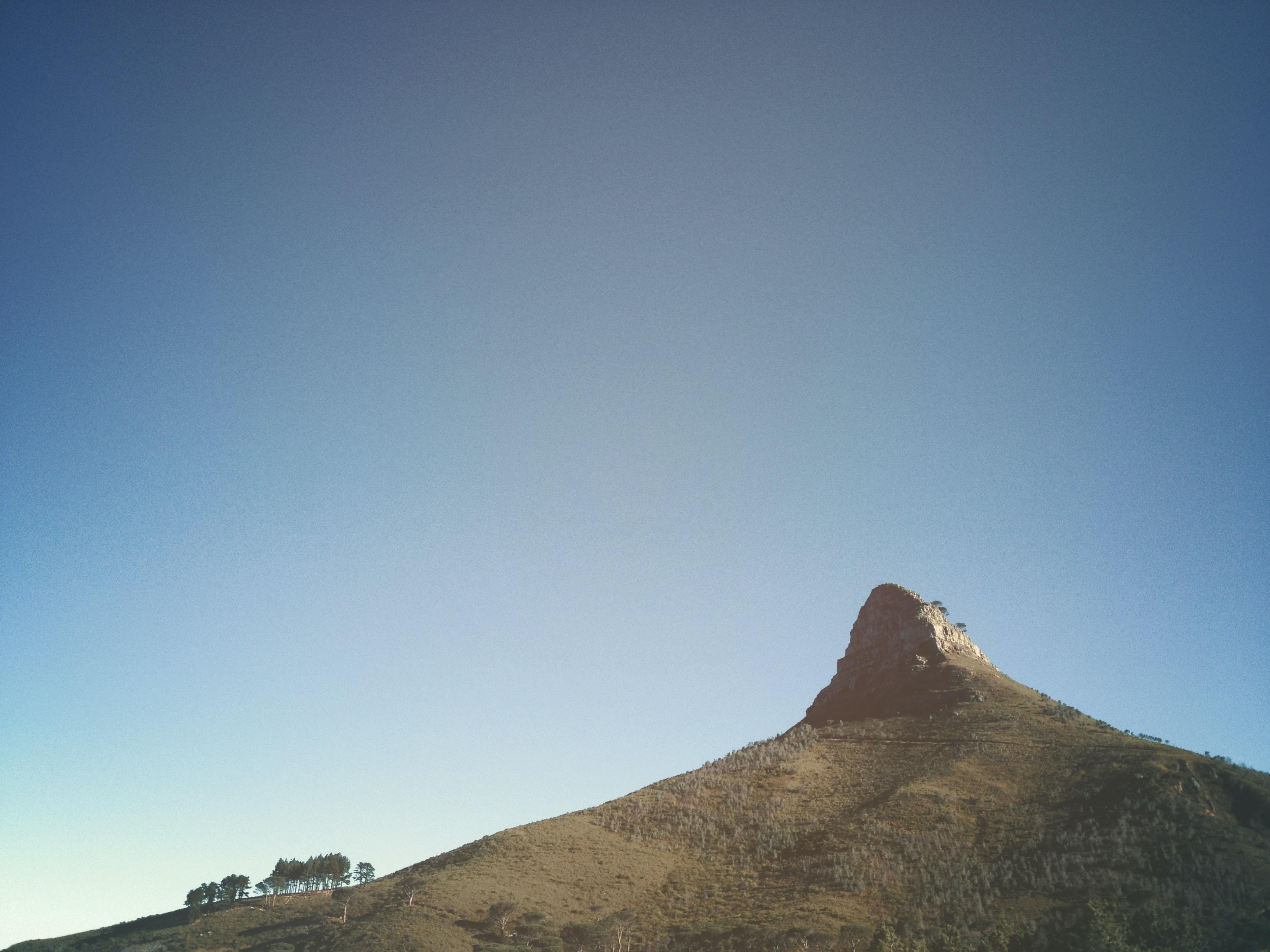 brown mountain summit