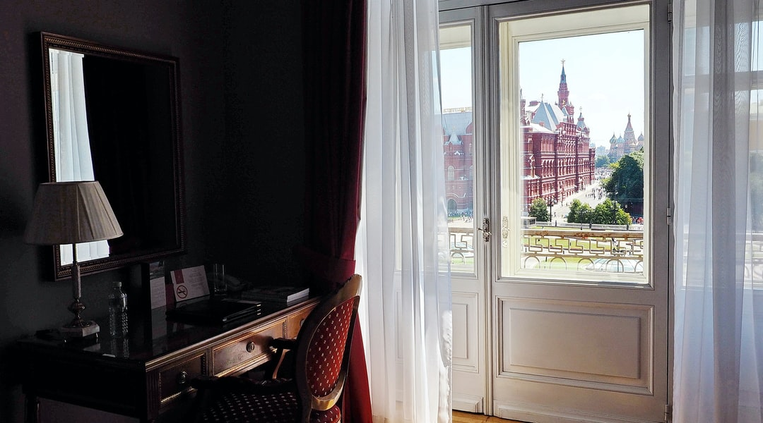 Москва hotel views