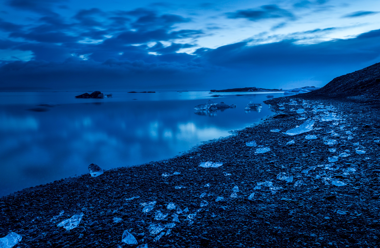 panoramic photo of beach