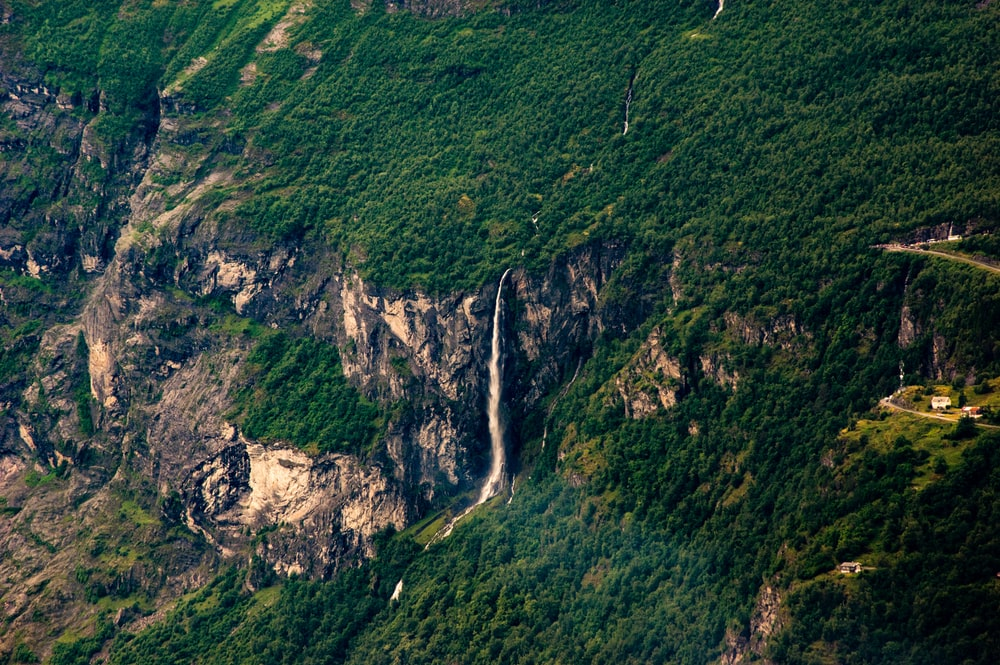 Angel Falls at daytime