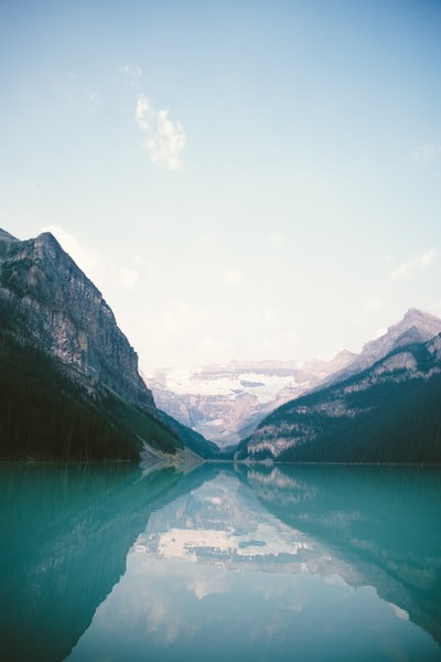 Lake Louise landscape