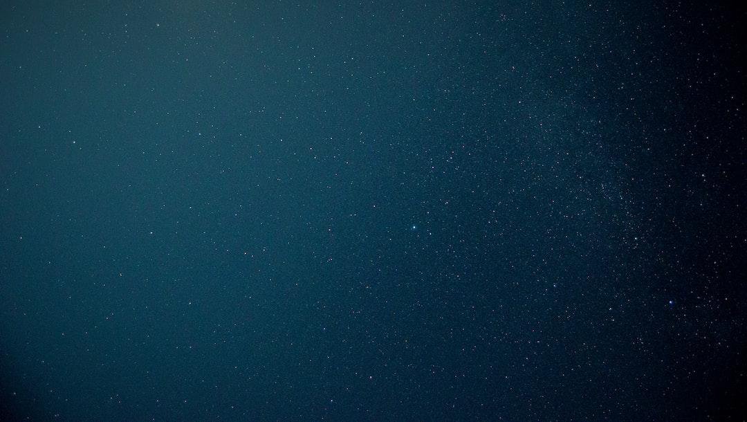 Blue And Black Starry Skies Photo Free Night Image On Unsplash
