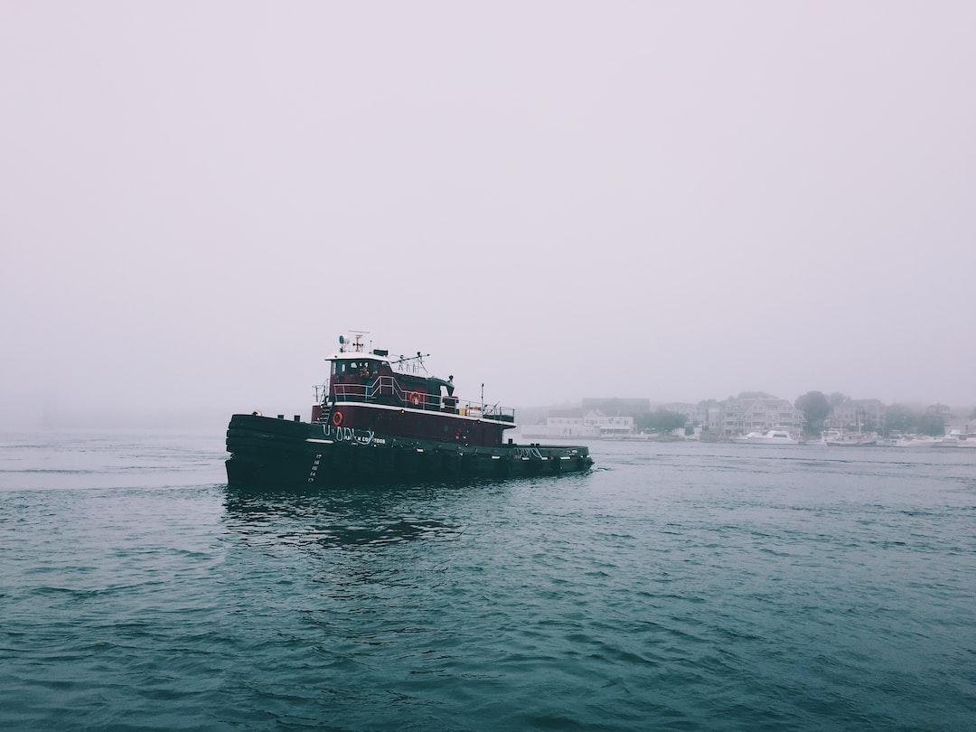 Foggy Ferry Ride