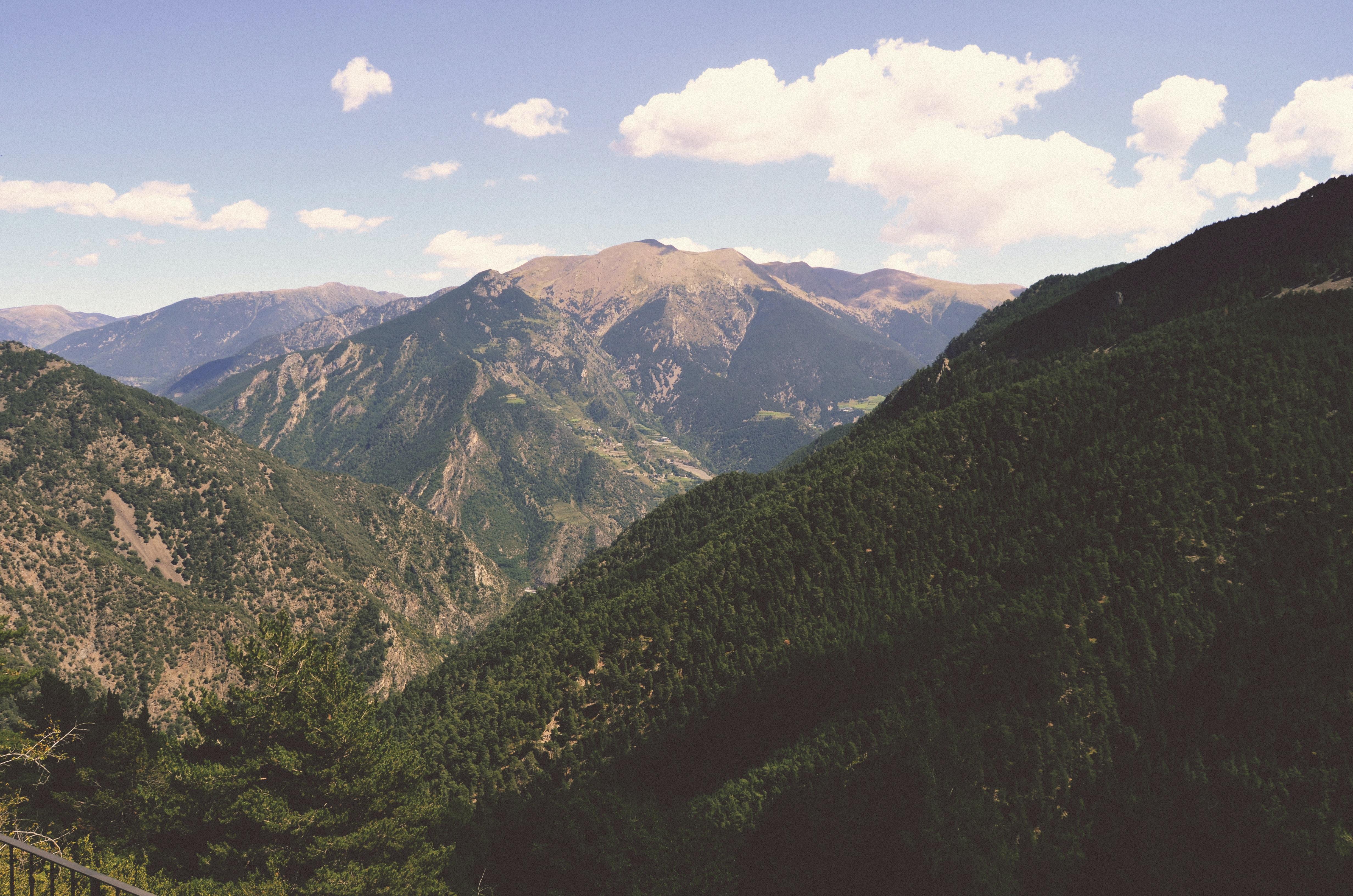 A mountain pass in Sant Julià de Lòria