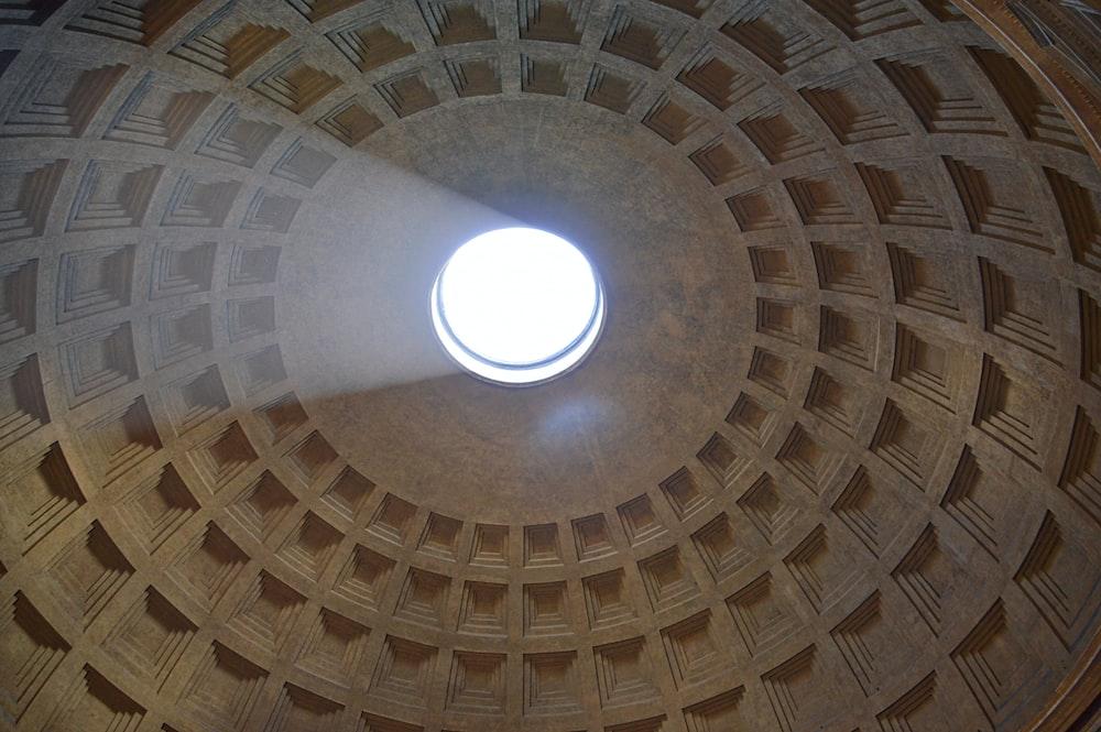 building dome interior