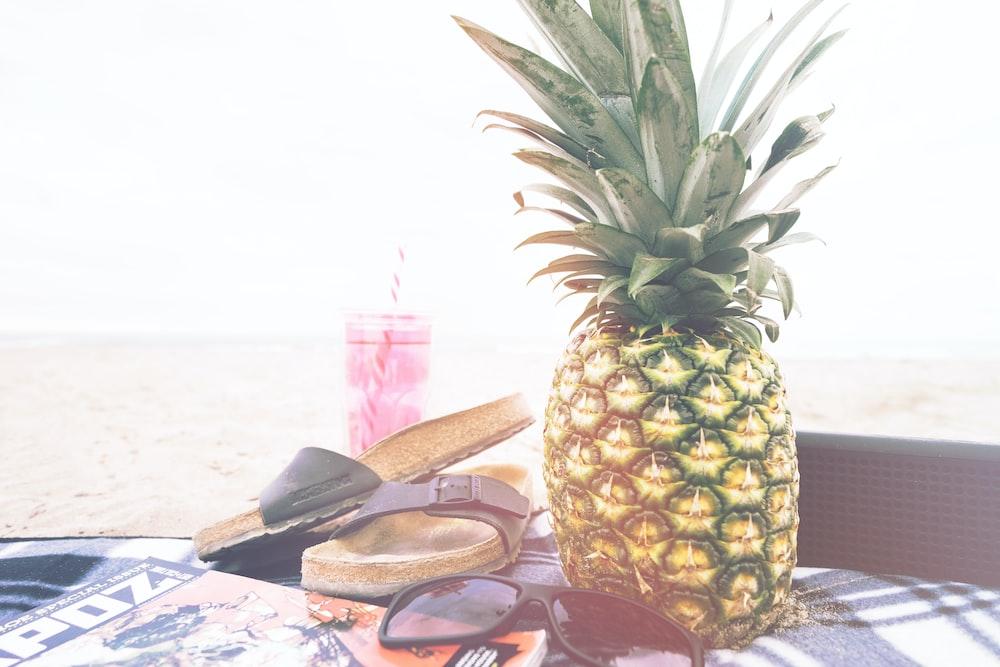 PorHd Pineapple And PineappleSandal By Sunglass At Photo O0Pkn8w
