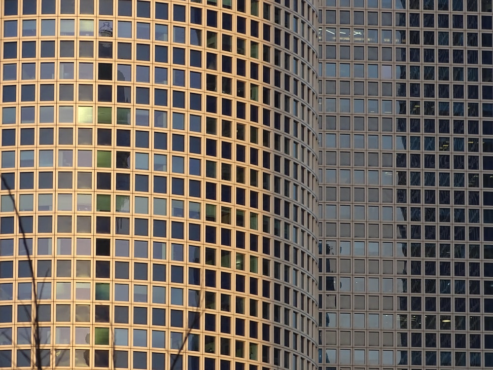 glass building during daytime