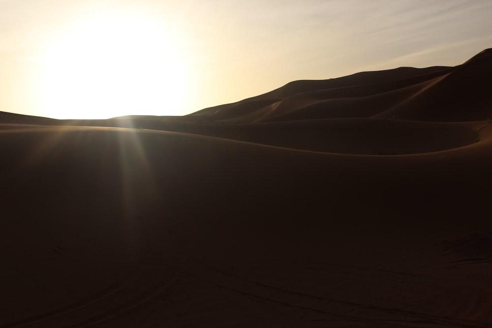 landscape photography of sunrise