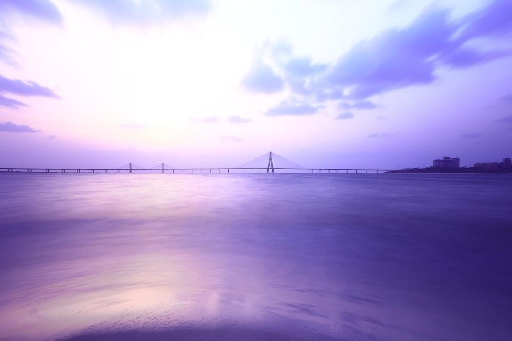 photography of footbridge