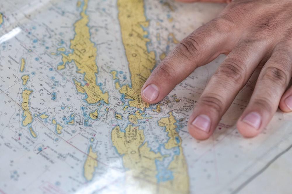 Landkarte erkunden