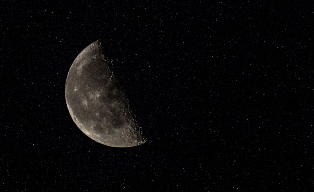 Moon, Space, Sky And Star HD Photo By Angelina Litvin