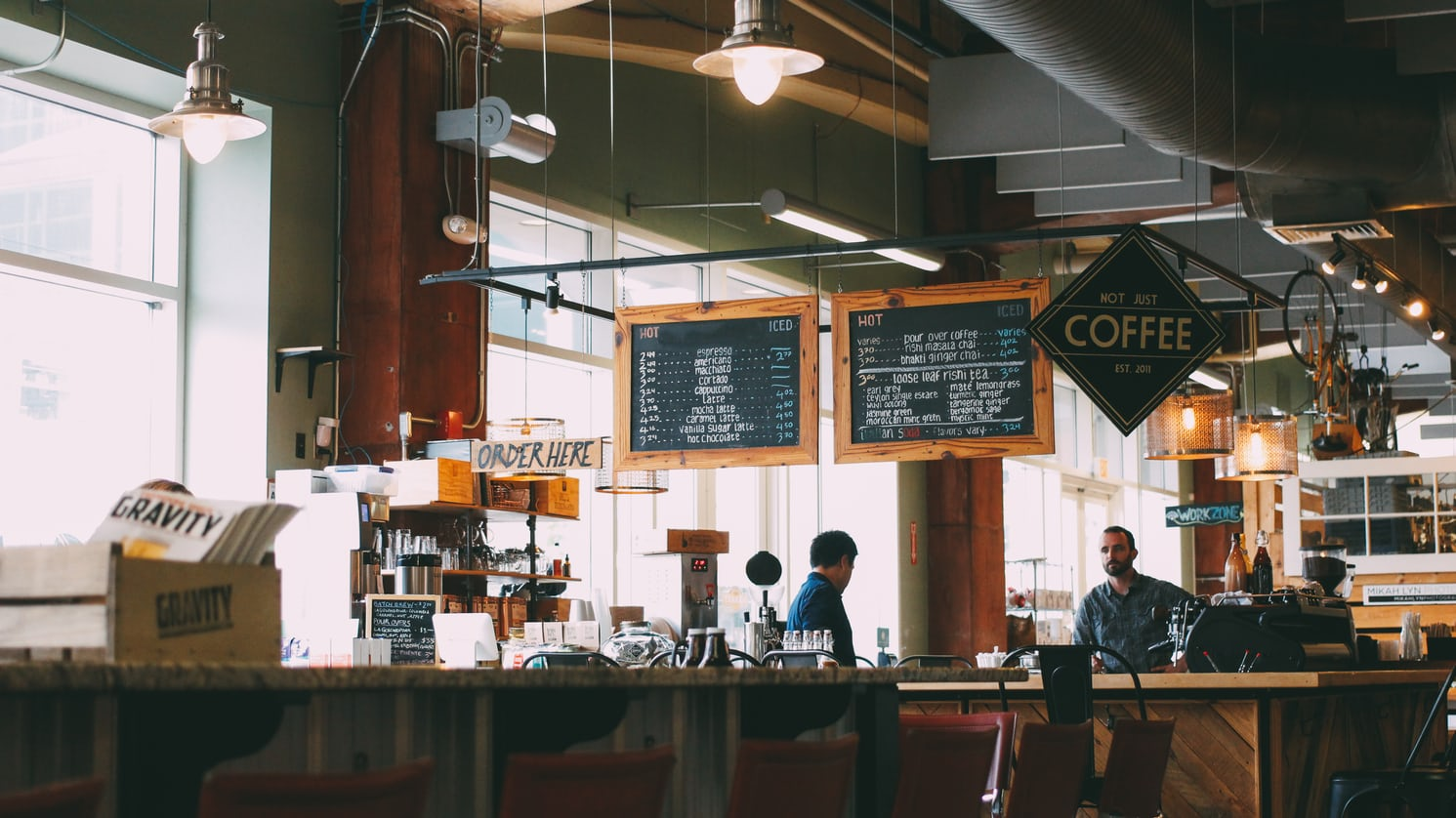 Coffee shop | Jazmin Quaynor on Unsplash