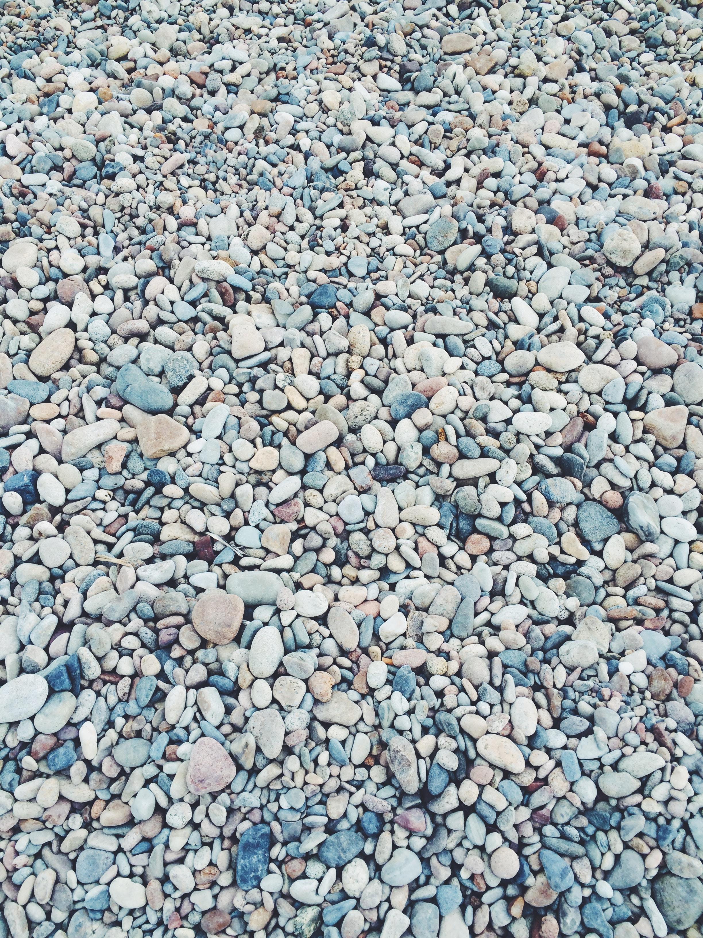 Beach rocks and pebbles at Посольское, Республика Бурятия, Россия