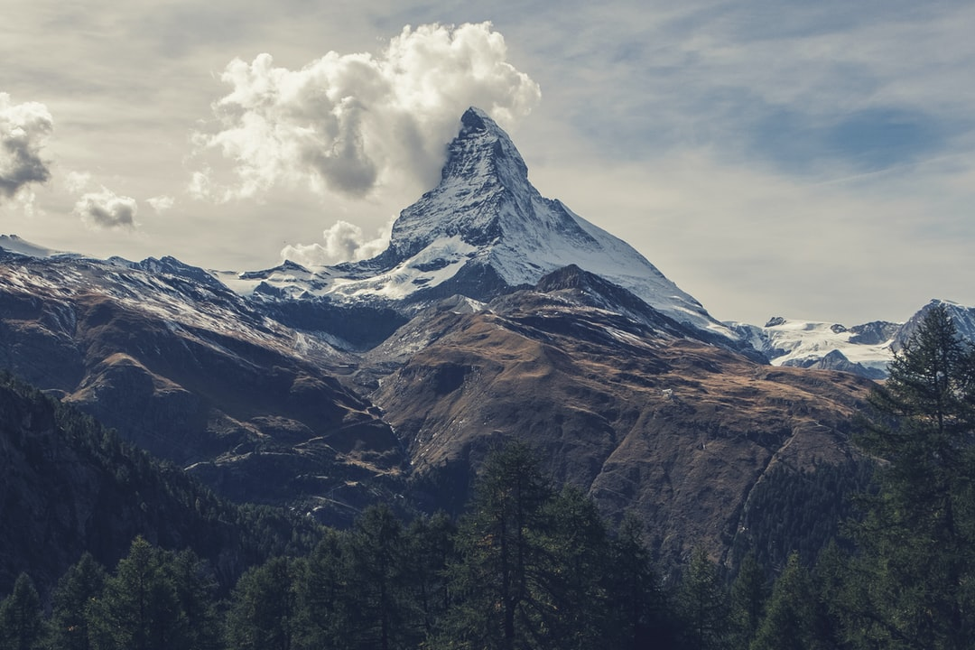 Matterhorn Under Clouds - unsplash