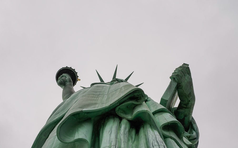 low angle photography of Statue of Liberty, New York