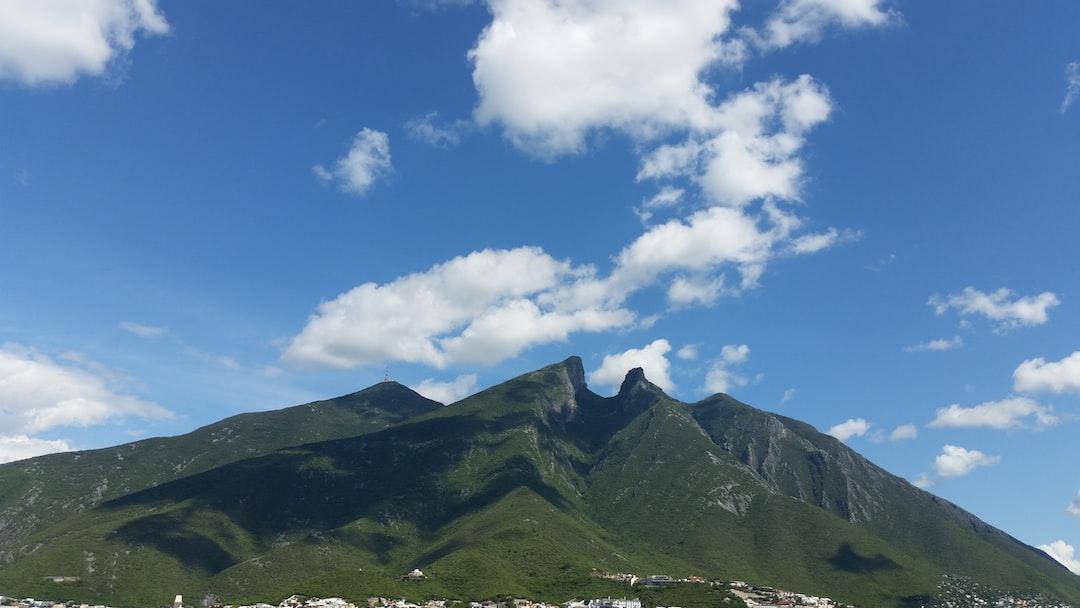 Cerro de La Silla on a warm day